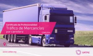 Curso de tráfico mercancías, camión