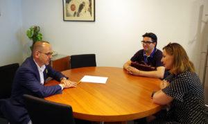 Carles Campuzano PDeCAT se reúne con UATAE autónomos