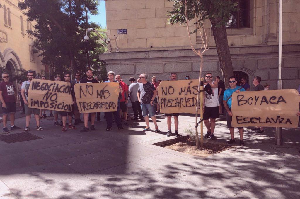 UATAE representa a los repartidores autónomos de prensa de Madrid ante el conflicto con Bocaya