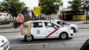 Paro nacional taxi UATAE