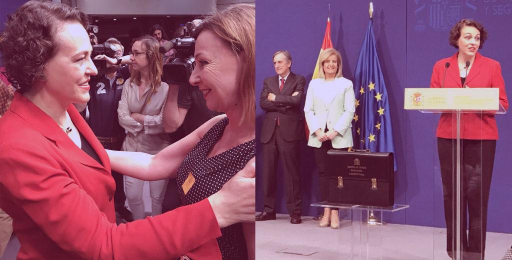 UATAE en la toma de posesión de la Ministra Magdalena Valerio