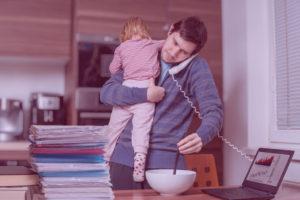 Conciliación familiar padres madres autónomos con hijos UATE