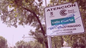 Entrada en vigor de Madrid Central para los autónomos UATAE