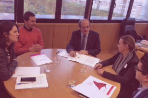 UATAE se reúne con PSOE Madrid