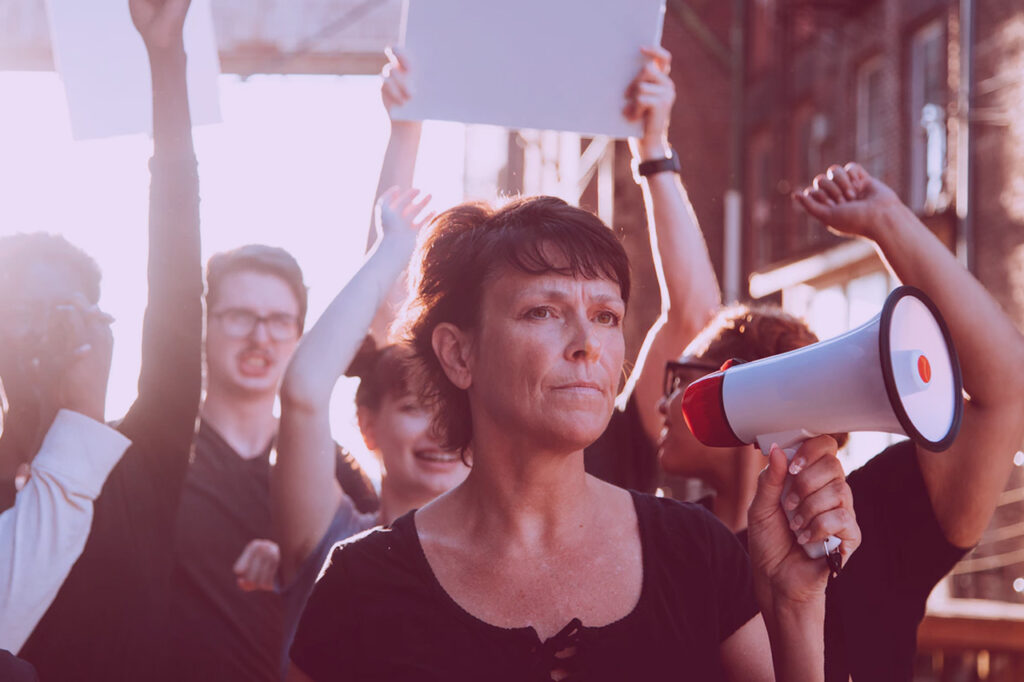 Movilizaciones feminitas, autónomas en huelga UATAE