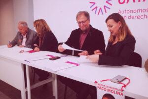 Paco Lobatón, personas desaparecidas y autónomos UATAE