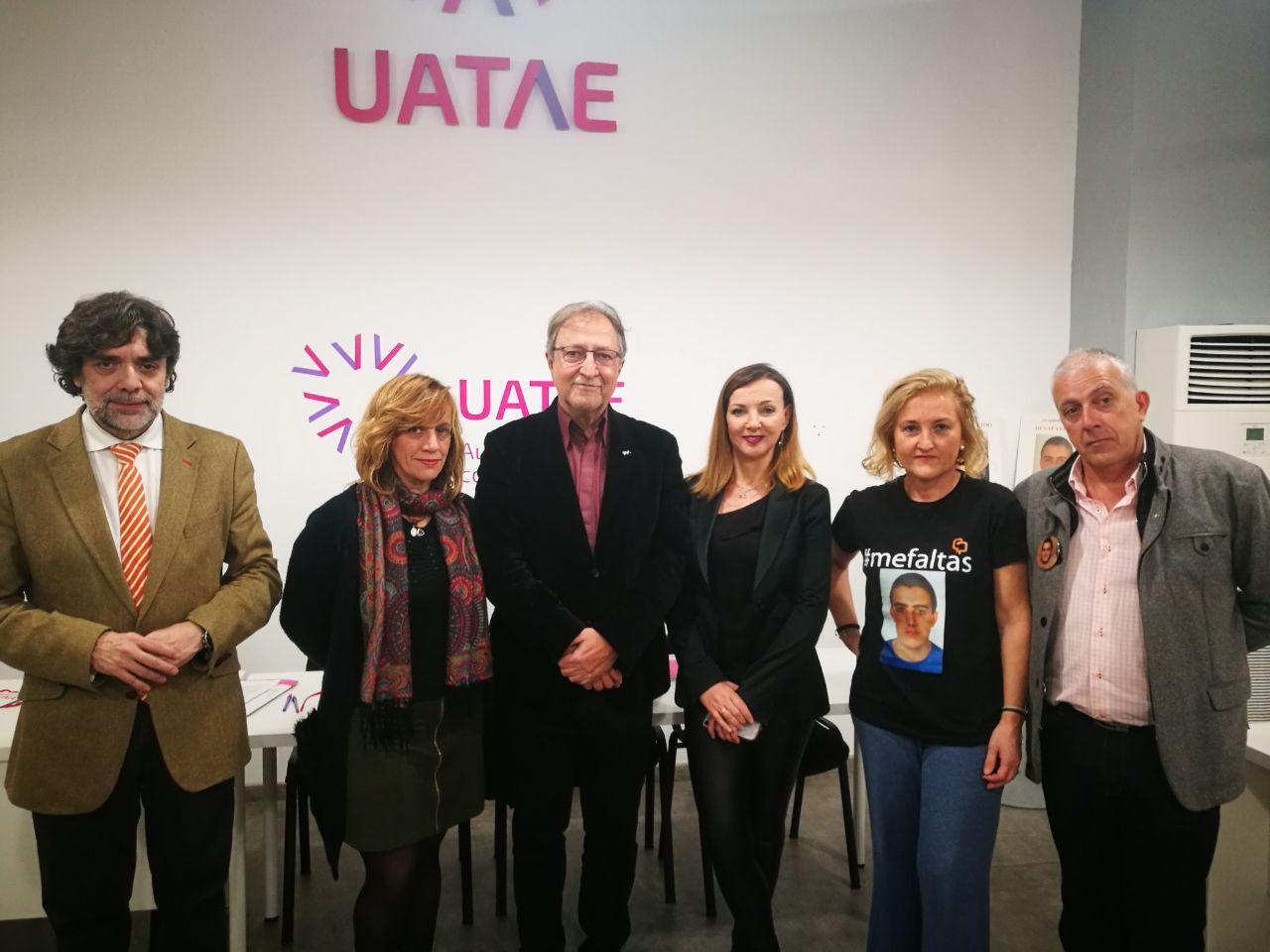 Autónomos y personas desaparecidas UATAE Paco Lobatón