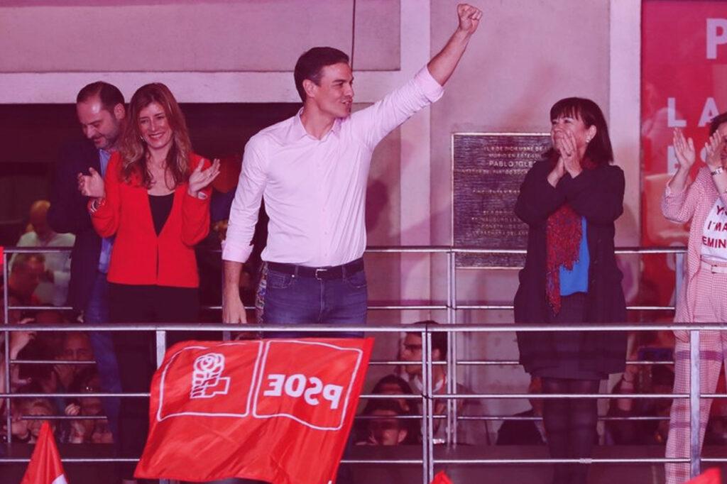 Pedro Sánchez gana las elecciones UATAE