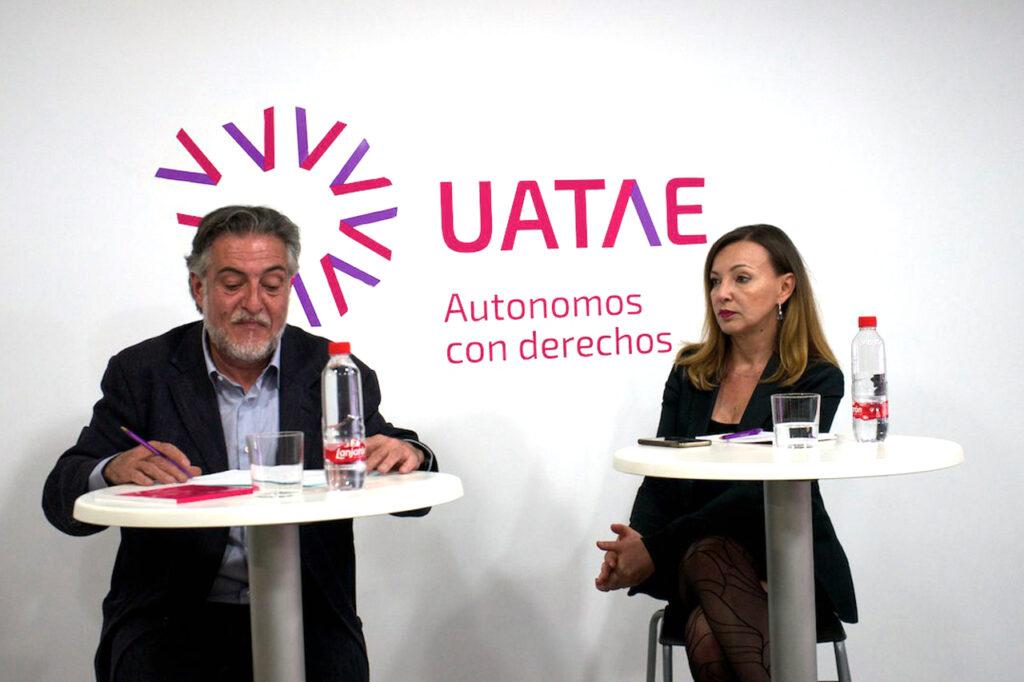 Pepu Hernández en desayunos con autónomos UATAE