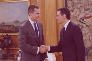 Pedro Sánchez recibe el encargo de formar gobierno del Rey valoración autónomos UATAE